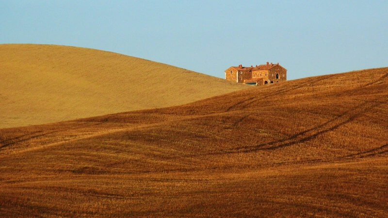 Bogdan Bricelj - Lonely House among Hills