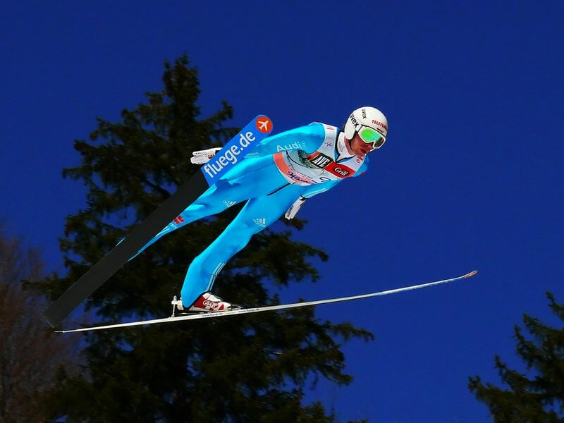 Bogdan Bricelj - Ski Jumper with Green Glases