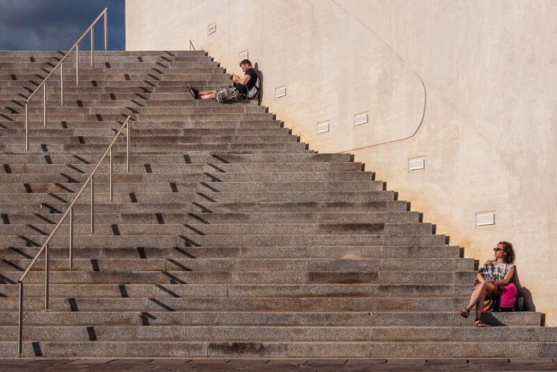 Helena VIDMAR - Na stopnicah