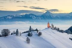 Simon Benedičič - Zimsko jutro