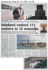 Članek v Zadarskem listu