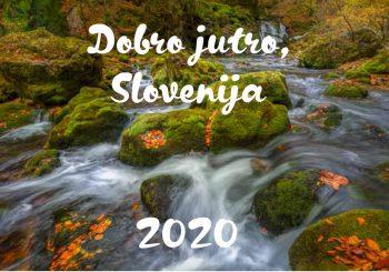 """Koledar """"DOBRO JUTRO SLOVENIJA 2020"""""""