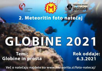 "2. Meteoritin foto natečaj ""GLOBINE 2021"""