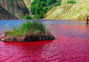 Vabilo na razstavo – Rdeče jezero